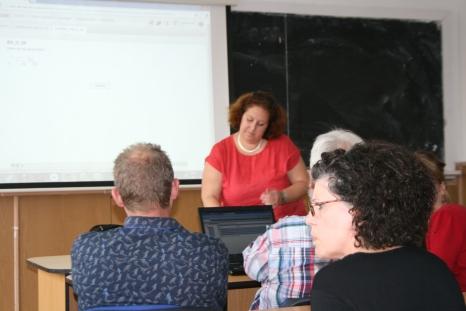 Workshop conduit par Hélène Mayer, List