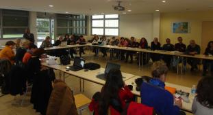 Workshop à Amiens, janvier 2014