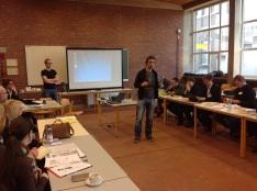 Mise en place des groupes, Anvers en novembre 2014