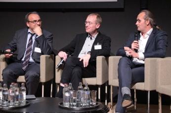 Thomas Debrux, Romain Antoine et Claude Turmes